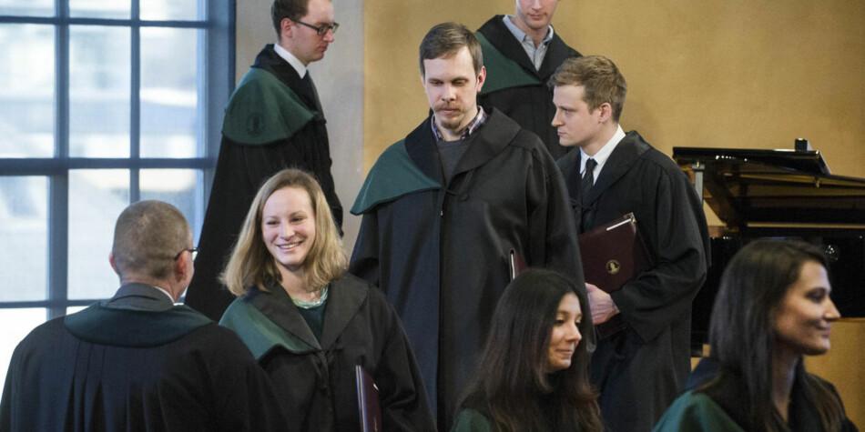 Artikkelforfatterne foreslår tiltak for å hindre frafall blant doktorgradsstudenter. Foto: Thor Brødreskift, UiB