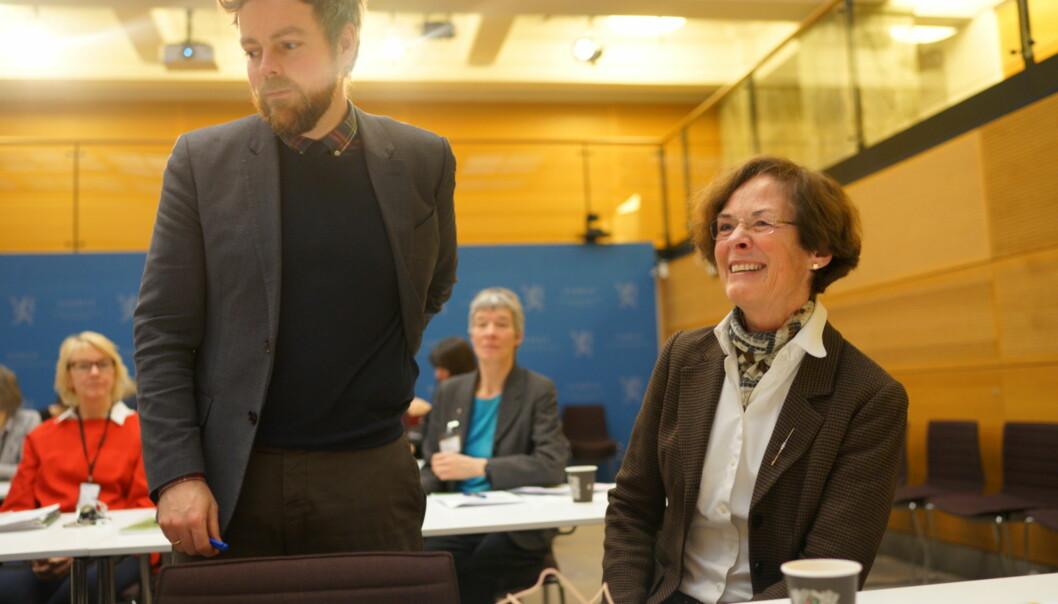 Siri Hatlen fikk fornyet tillit fra kunnskapsminister Torbjørn Røe Isaksen og skal lede NMBU de neste fire årene. Nyansatt rektor samme sted er Mari Sundli Tveit, som var valgt rektor forrigeperiode.