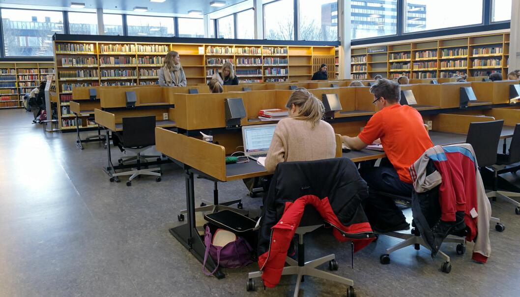 Studentene på Det humanistiske fakultet på Universitetet i Oslo (UiO) er de som sliter mest med gjennomføring og frafall påUiO.