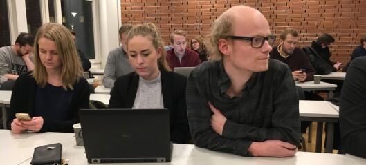 Parlamentet kastet Sæbø