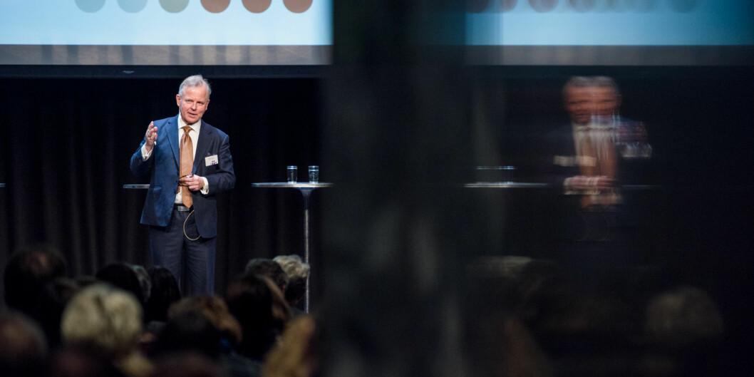 Mandag ble det kjent at Ole Petter Ottersen hadde vendt tommelen ned til Göteborgs universitet. To dager senere annonserer Karolinska Institutet at de har én rektorkandidat - og det er nettoppOttersen. Foto: Skjalg Bøhmer Vold