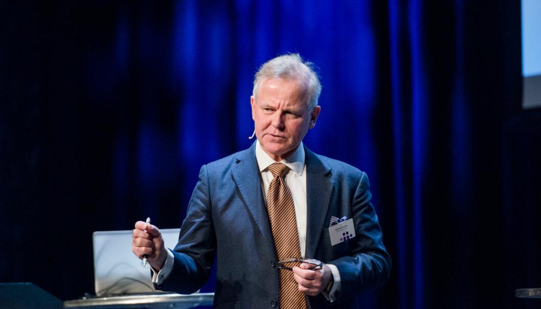 Rektor Ole Petter Ottersen ved Universitetet i Oslo advarer mot å knytte penger til utviklingsavtalene som UiO og hittil fire andre institusjoner har inngått medKunnskapsdepartementet. Foto: Skjalg Bøhmer Vold