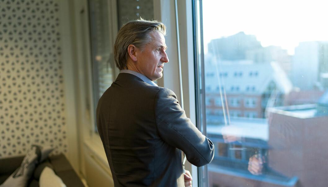 Direktør for infrastruktur og digitalisering ved OsloMet, Asbjørn Seim, vil nå gå i dialog med gårdeier Hemfosa om muligheten for at OsloMet blir på Kjeller i stedet for å flytte til Lillestrøm. Foto: Skjalg Bøhmer Vold