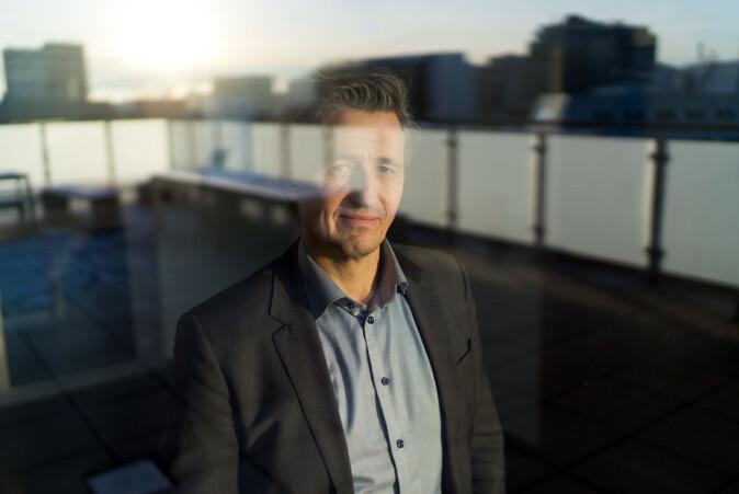 — Behovene skal styre løsningene vi velger, sier OsloMets direktør for digitalisering og infrastruktur, Asbjørn Seim. Foto: Ketil Blom Haugstulen
