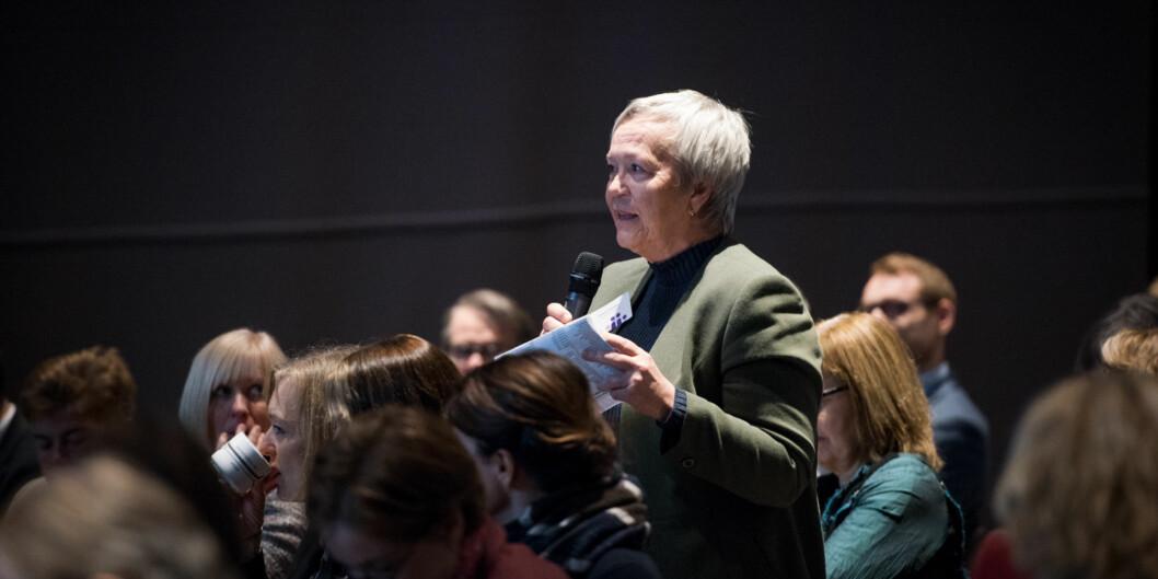 Når Kathrine Skretting tiltrer som rektor for Høgskolen i Innlandet fra 1. mai tar hun over en høgskole som nærmest ikke marsjerer i takt på noe som helst punkt når det kommer til fagligorganisering. Foto: Skjalg Bøhmer Vold