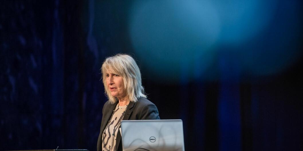 Rektor Marit Boyesen ved Universitetet i Stavanger trenger en ny direktør når John B. Møst blir pensjonist. 13 søkere ønsker å overtastafettpinnen. Foto: Skjalg Bøhmer Vold