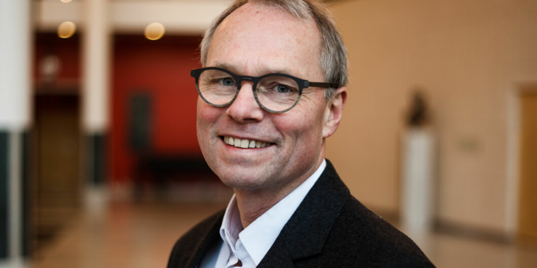 Jusprofessor Hans Petter Graver har nettopp vært i Kina og forelest om menneskerettigheter. UiOs samarbeid med Kina om menneskerettigheter er 20 år iår. Foto: Nicklas Knudsen