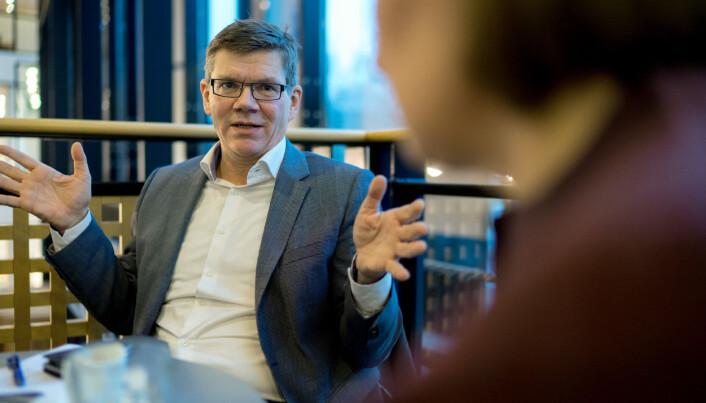 Rektor på UiO, Svein Stølen. Foto: Ketil Blom Haugstulen