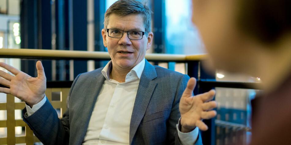 Detaljstyring av verste sort, mener rektor Svein Stølen ved Universitetet i Oslo om Arbeiderpartiets forslag til tilrettelegging for toppidrettsutøvere i høyere utdanning. Foto: Ketil Blom Haugstulen