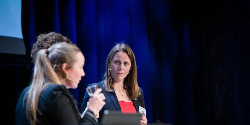 Lise Lyngsnes Randeberg, president i Tekna. Foto: Skjalg Bøhmer Vold
