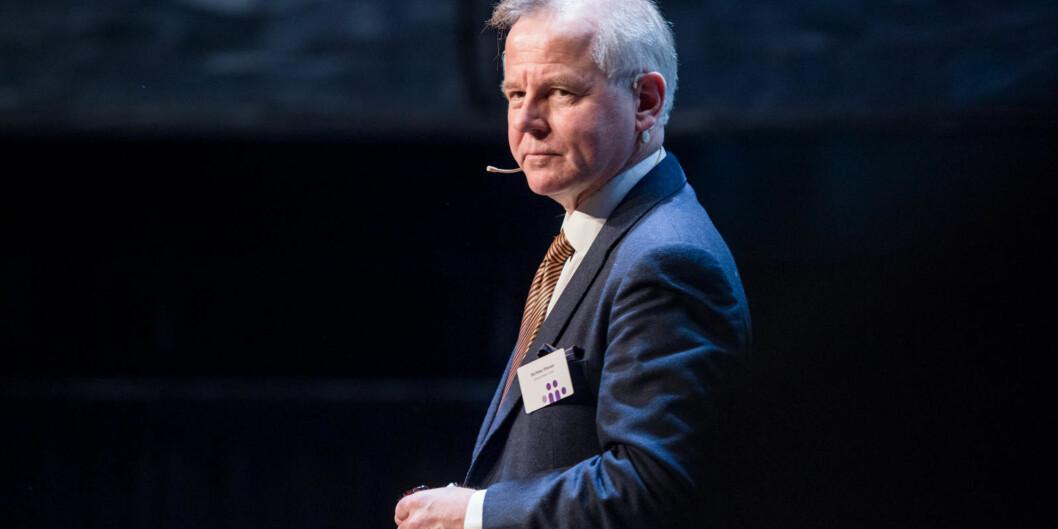 Jeg er sikker på at et vitenskapsombudvil være en god ting ved Karolinska Institutet også, sier påtroppende rektor, Ole Petter Ottersen, som tiltrer jobben i Stockholm 1.august. Foto: Skjalg BøhmerVold