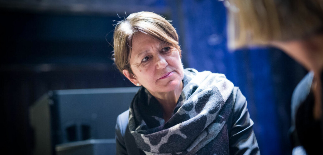 UiT-prorektor Wenche Jakobsen støtter studentene i at undervisningskompetanse må inn i konkurransen om faglige stillinger. Foto: Skjalg Bøhmer Vold