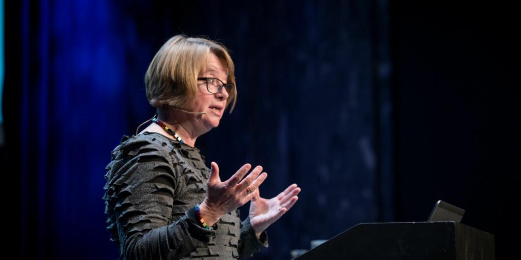 Berit Kjeldstad er tilbake som prorektor for utdanning. En jobb hun har hatt i åtte år tidligere. Foto: Skjalg Bøhmer Vold