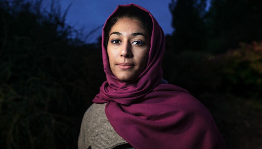Hajer Sharief fra Libya kommer til Trondheim 15. februar for å holde foredrag om hvordan verdens kvinnekamp har utviklet seg de sistetiårene. Foto: Nicklas Knudsen