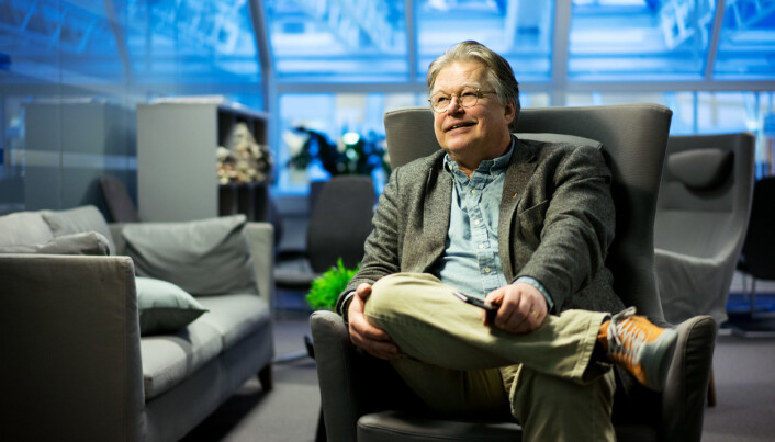 Trond Blindheim, tidligere rektor ved Høyskolen Kristiania, nå dosent. Foto: Ketil Bom Haugstulen
