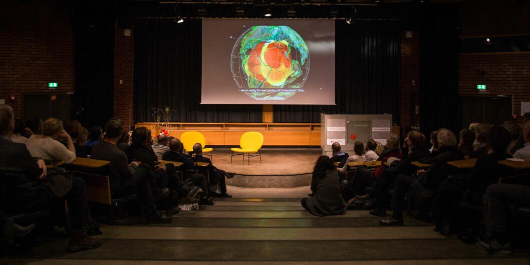 Medievitar Joachim Laberg meiner at debatten om Powerpoint i undervisning, er meir kompleks enn ja og nei. Arkivfoto. Foto: Siri Øverland Eriksen