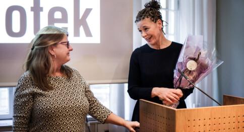 Blindern-bibliotek er kåret til Norges beste