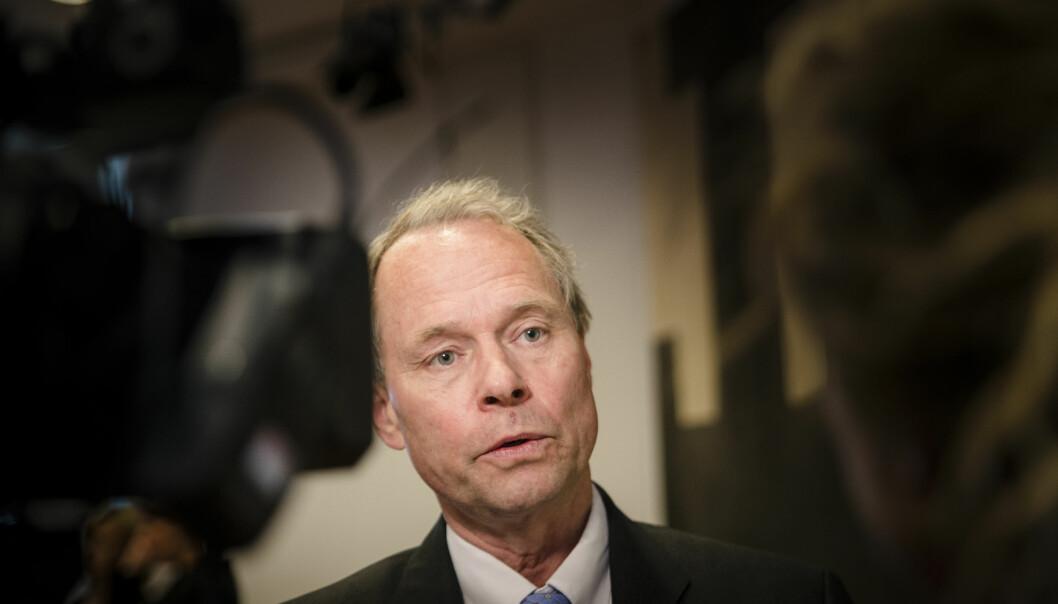 Jusprofessor Hans Petter Graver stiller som kandidat til rektorvalget på Universitet i Oslo denne våren. Foto: NTBscanpix Foto: Eik, Robert S.