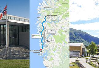 Sju timars reise frå Haugesund og Førde