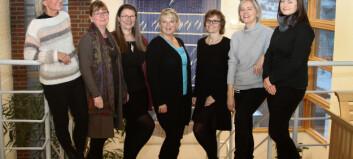 Seks nye kvinner på Nord