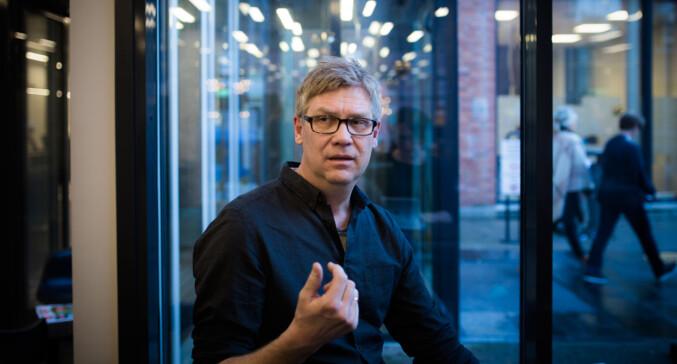 Jon Petter Evensen, lærer ved bachelor i fotojournalistikk på Høgskolen i Oslo og Akershus. Foto: Henriette Dæhlie