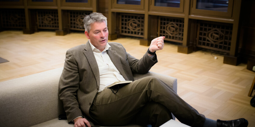 Bjørn Haugstad er statssekretær i Kunnskapsdepartementet. Foto: Henriette Dæhli