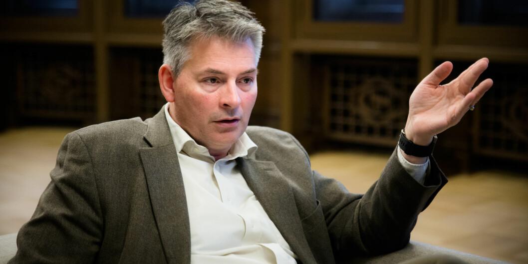 Statssekretær Bjørn Haugstad (H).  Foto: Henriette Dæhli