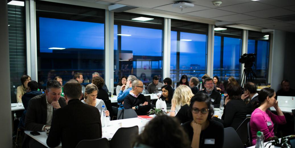 Mangfold i norsk akademika: Fra en frokost arrangert av KIF-komiteen. Foto: Henritte Dæhli