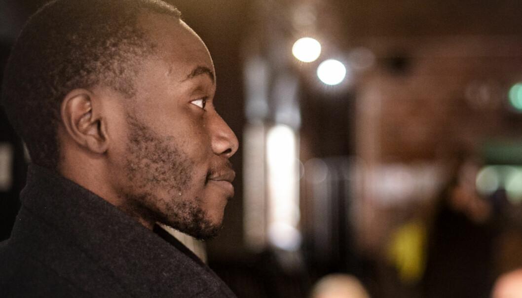 Henry Mutebe er første student som er valgt til studentparlamentet Foto: Nicklas Knudsen