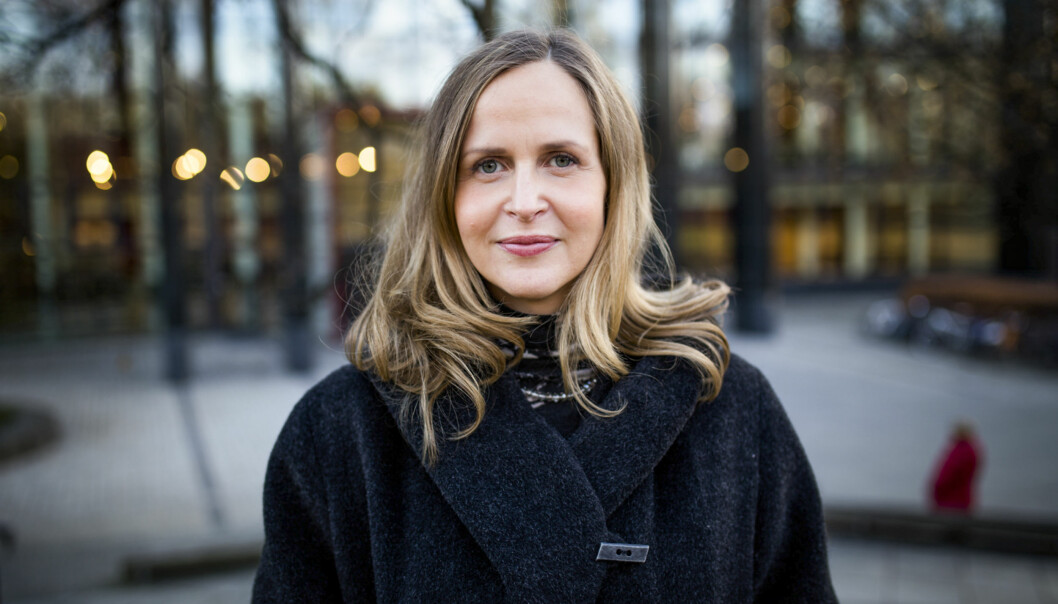 Marianne Høva Rustberggard, Norges første studentombud, passerer snart fire år ijobben. Foto: Henriette Dæhli