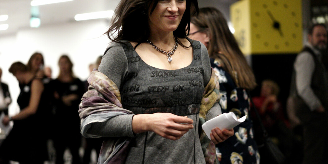 """Professor Liv Elin Torheim ved Høgskolen i Oslo og Akershus svarer """"tja"""" til om hun vil anbefale yngre kvinner enforskerkarriere."""