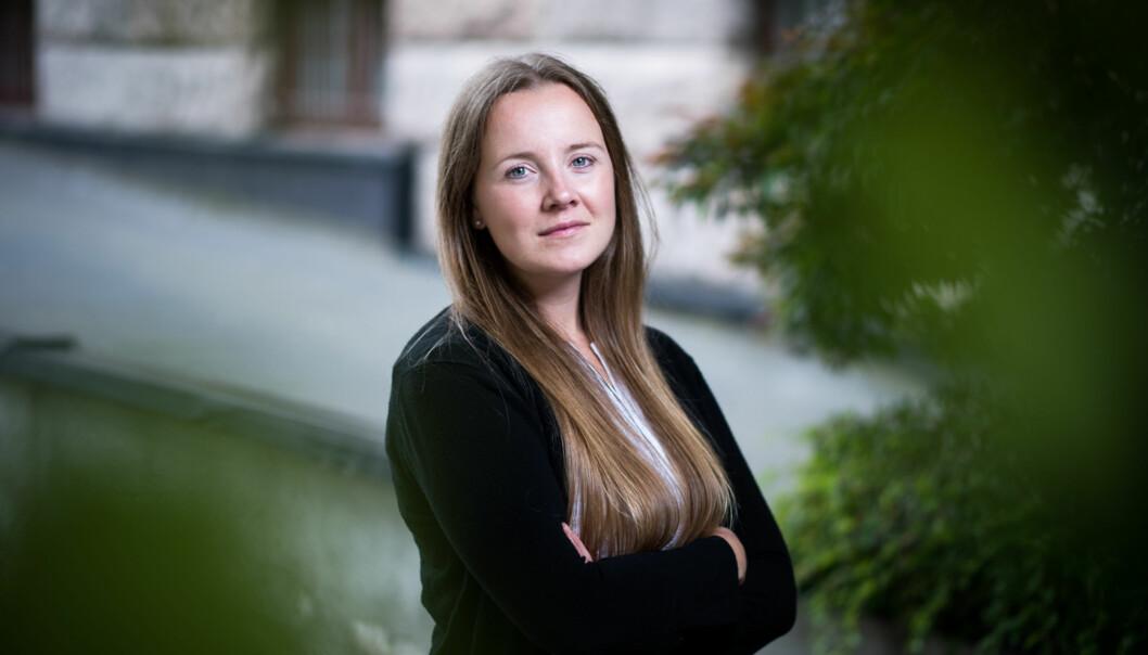 Norsk Studentorgansiasjon (NSO) og leder Marianne Andenæs, mener det må gjøres noe med regelverket som begrenser arbeidsmulighetene for utenlandske studenter. Foto: Skjalg BøhmerVold