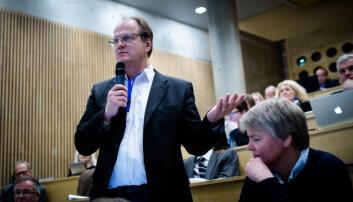 Rektor på Universitetet i Agder (UiA), Frank Reichert. Foto: Henriette Dæhli
