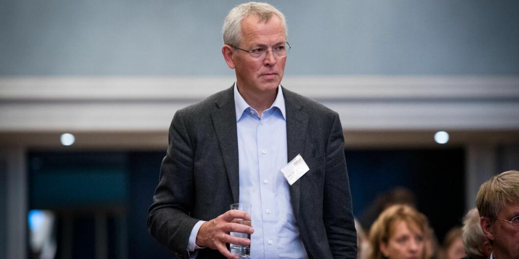 Rektor på MF vitenskapelig høyskole, Vidar Haanes, er glad for de gode resultatene de har oppnådd. Foto: Skjalg Bøhmer Vold