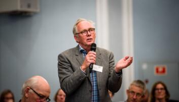 Avtroppende styreleder ved Universitetet i Sørøst-Norge, Rune Nilsen. Foto: Skjalg Bøhmer Vold