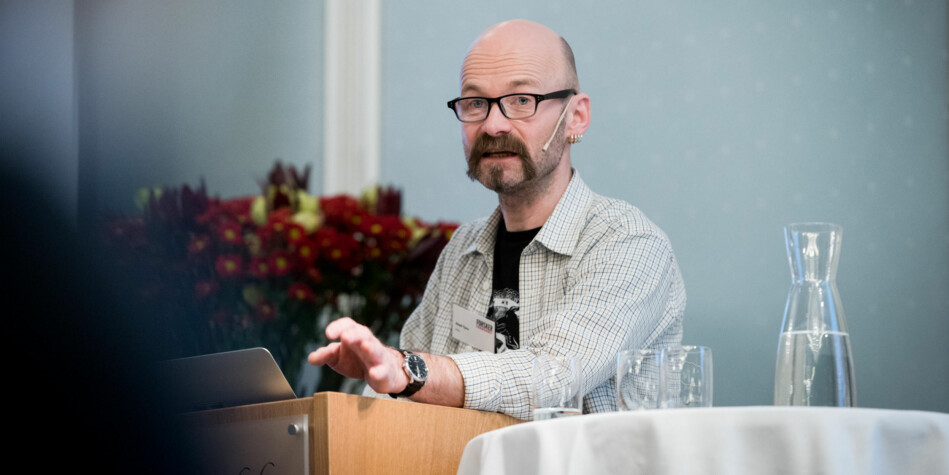 — Nå begynner strukturreformen å faktisk skape strukturendringer, sier Aksel Tjora, professor på NTNU. Foto: Skjalg Bøhmer Vold