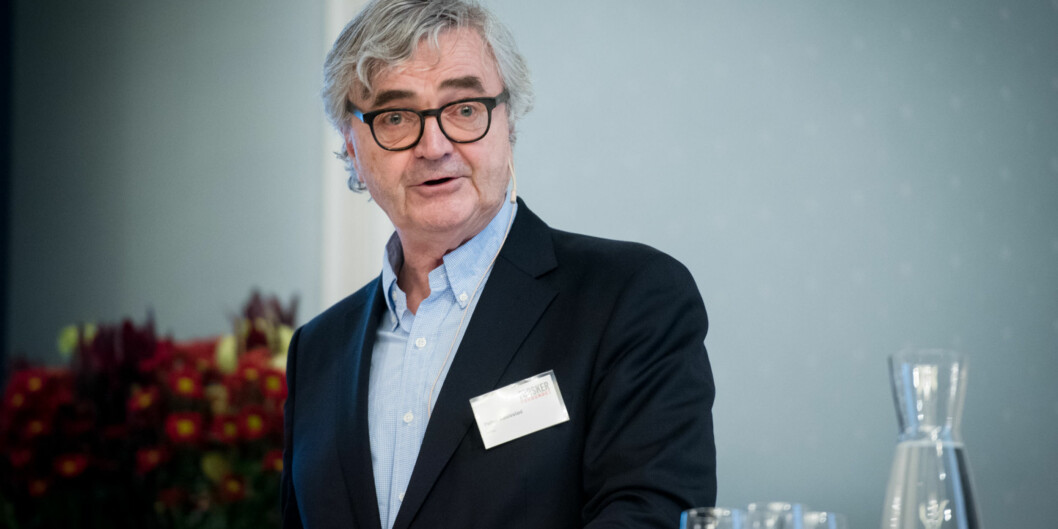 Petter Aaslestad, leder i forskerforbundet er glad pilene ikke peker nedover, men er likevel ikkeberoliget. Foto: Skjalg Bøhmer Vold