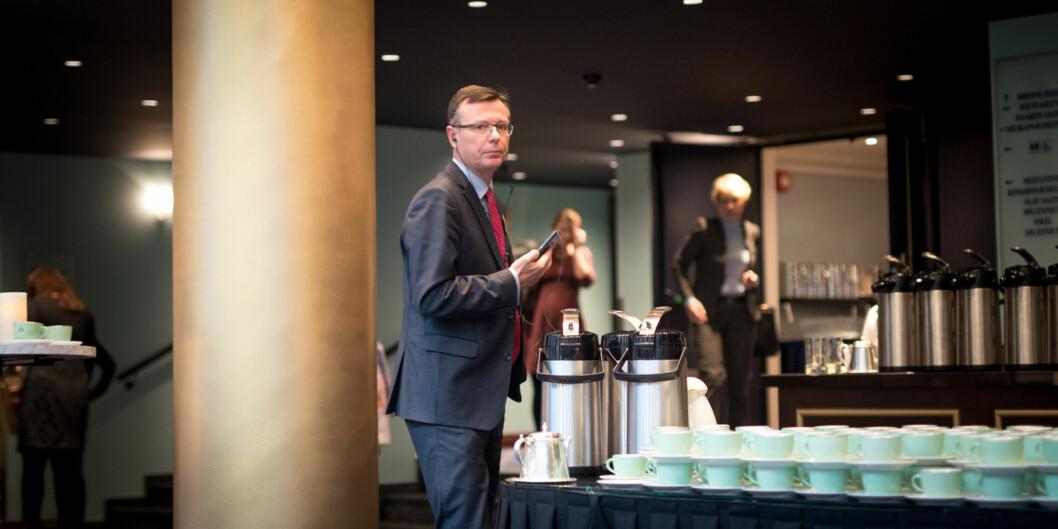 Dag Rune Olsen er rektor ved Universitetet i Bergen. Foto: Skjalg Bøhmer Vold