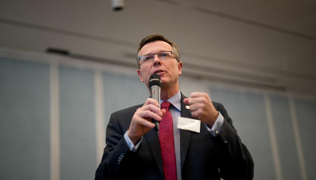 Rektor Dag Rune Olsen ved Universitetet i Bergen. Foto: Ketil Blom Haugstulen