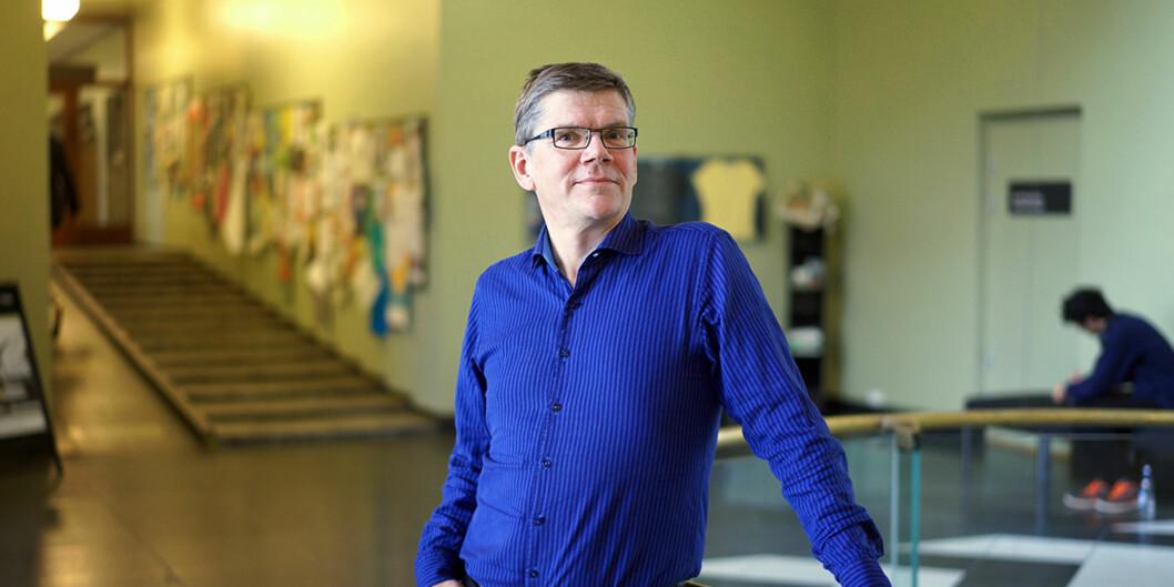 Svein Stølen stiller som kandidat i rektorvalget på Universitetet i Oslo. Foto: KetilBlom