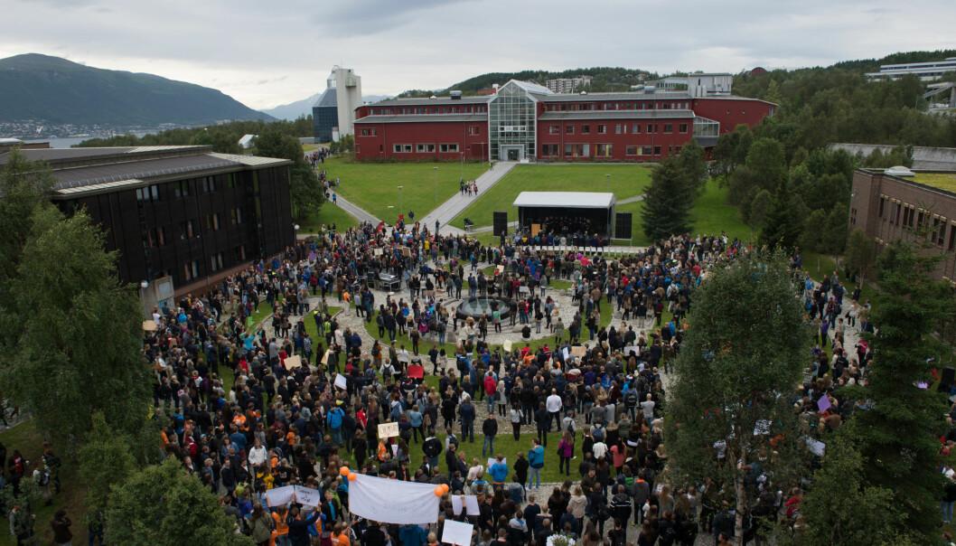 Studiestart i Tromsø. Foto: UiT