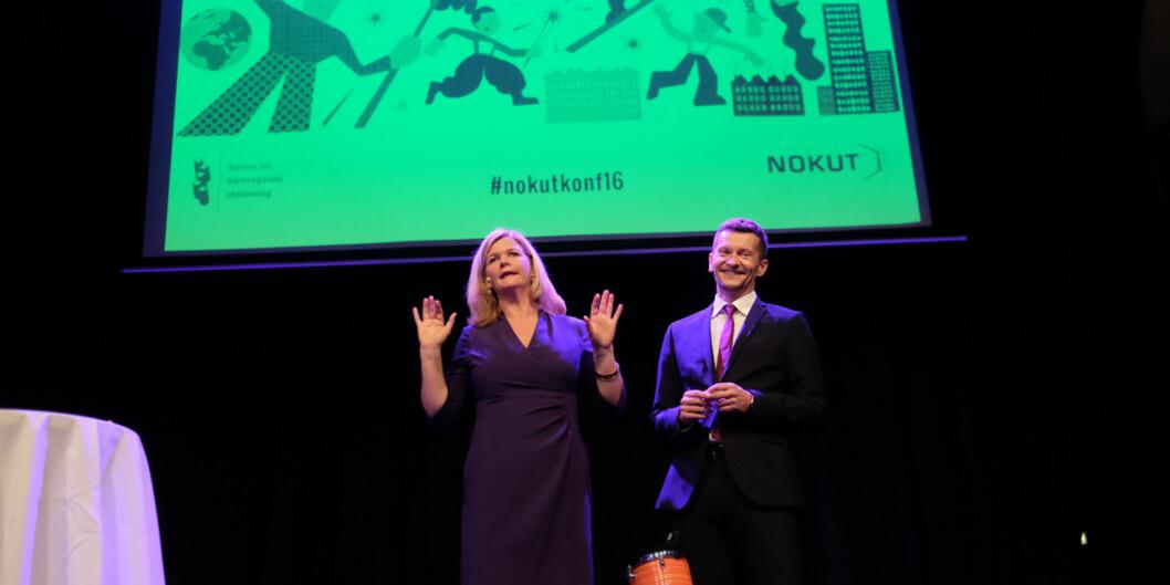 Nokut-konferansen 2016. Prisvinnere. Foto: Ketil Blom Haugstulen