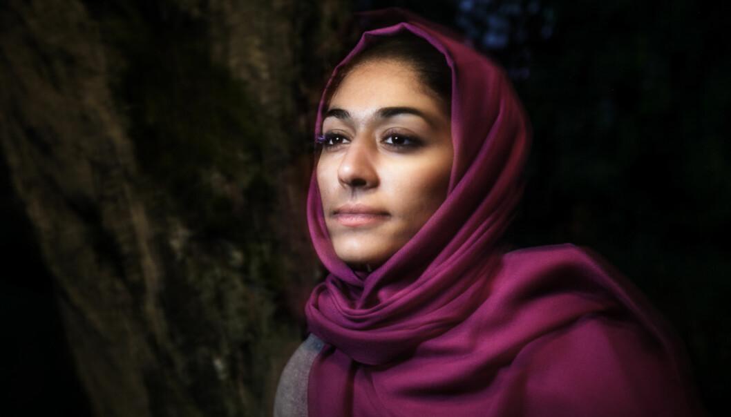 Fleire organisasjonar er interessert i arbeidet Hajer Sharief gjer, difor er ho no i Noreg sjuandegong. Foto: Nicklas Knudsen