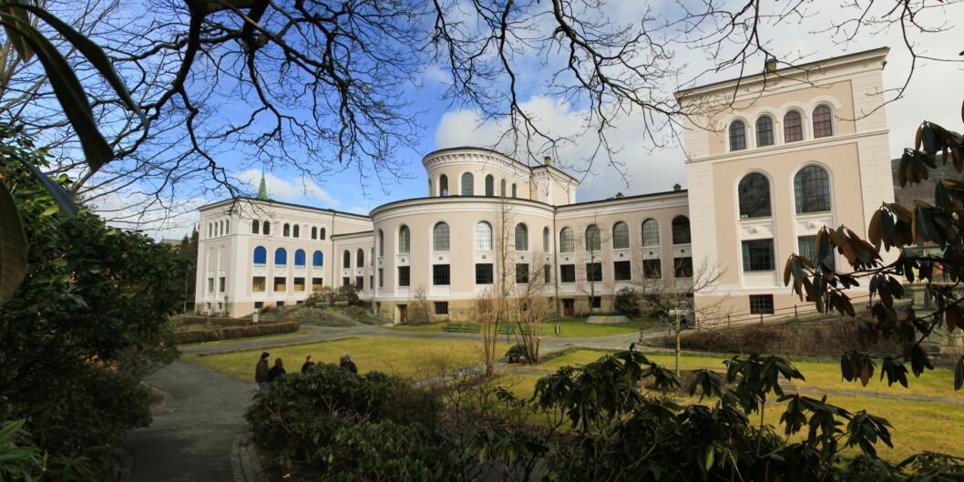 Senter for vitenskapsteori ved Universitetet i Bergen skal lede prosjektet omforskningsetikk. Foto: Marianne Røsvik