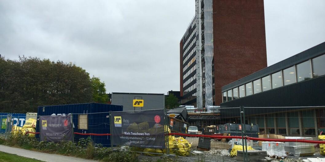 Tre universiteter får milder til rehabilitering av sine bygg i 2017, blant dem Universitetet i Oslo. Foto: Sofie VegaWollbraaten