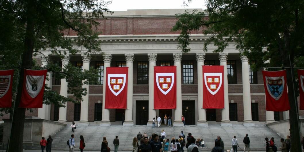 Det er ikke bare eliteunivsersiteter som Harvard (bildet), du kan få støtte for å studere ved. Foto: Joseph Williams/Flickr