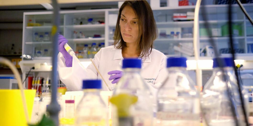Cinzia Progida er en av åtte kvinnelige forskere som får spesiell oppfølging på Instituttet for Biovitenskap. Hun sier hun ser en økt bevissthet rundt likestilling påarbeidsplassen.