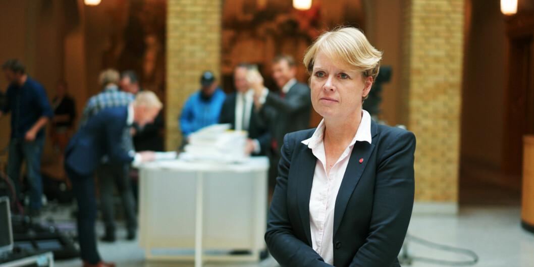 Marianne Aasen, stortingrepresentant og medlem av Kirke-, utdannings - og forskningskomiteen, fremmet i dag en interpelasjon til kunnskapsminister Torbjørn RøeIsaksen.
