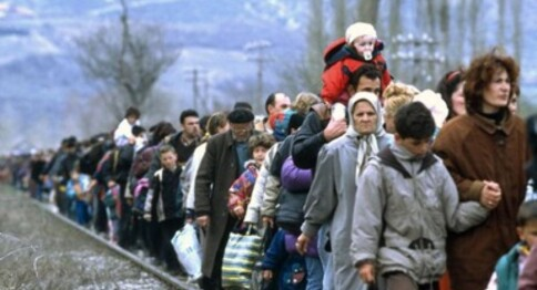 The refugee situation today
