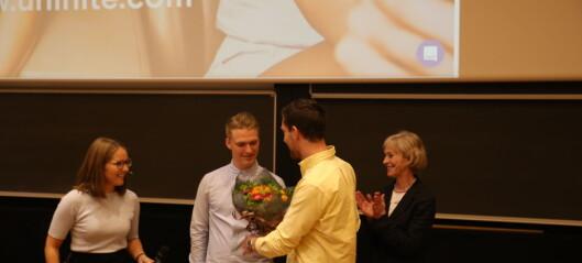 Fikk Kristian Ottosen-prisen
